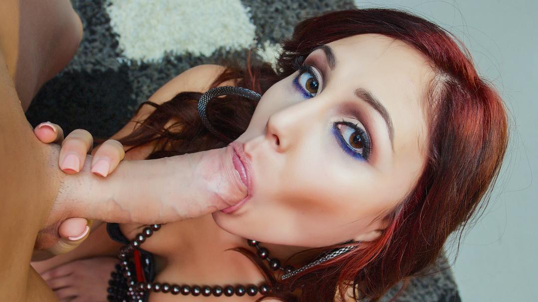Petite Stripper Ariana Marie Sloppy Blowjob And Facial - First Class POV
